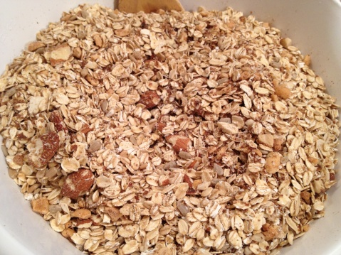 Dry Granola Ingredients