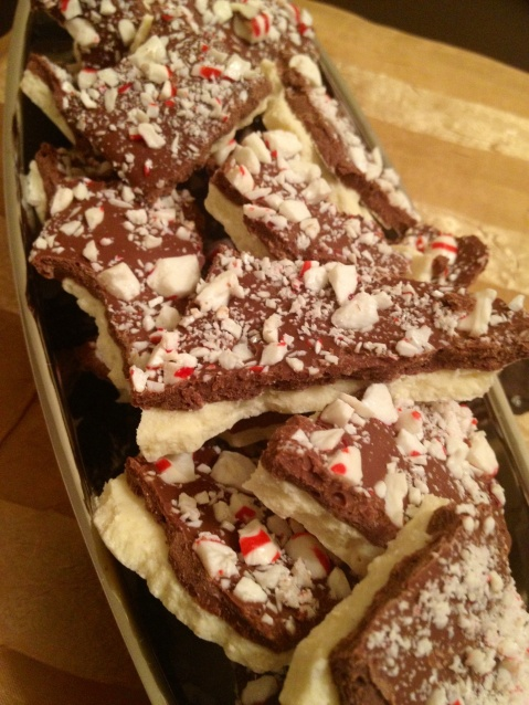 Mouth-watering Peppermint Bark!