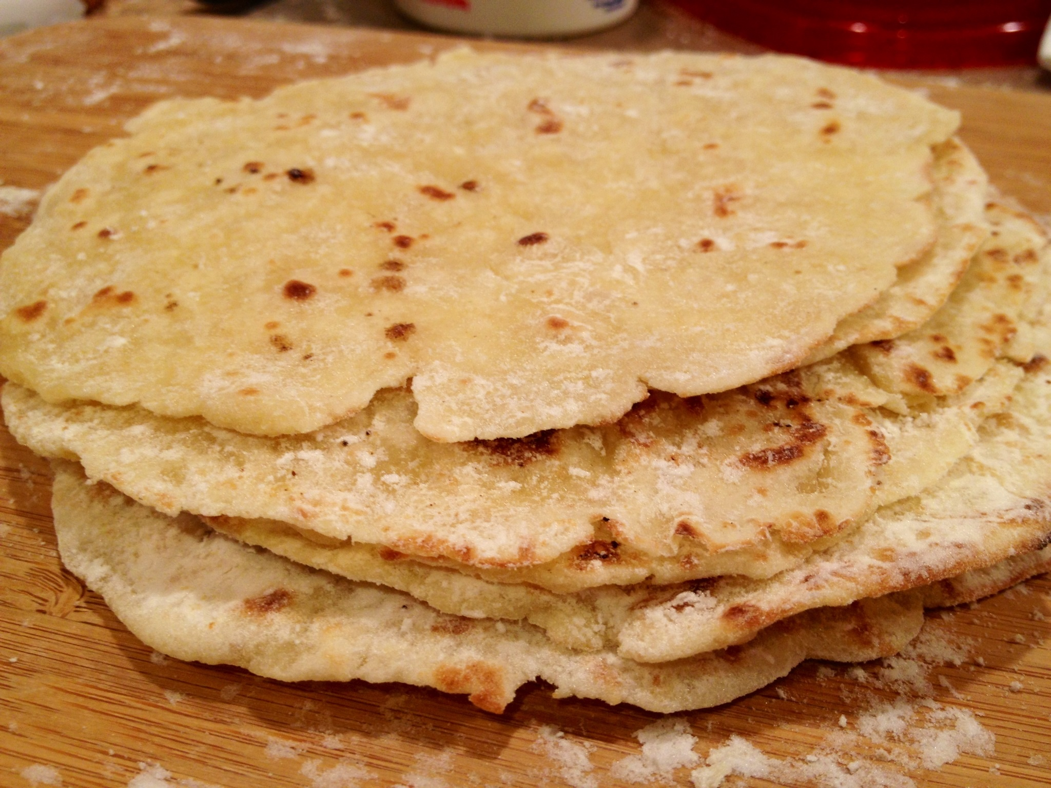 THE BEST Gluten-Free FLOUR Tortillas. You can literally make these in ...